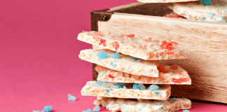 You Asked for It! Victoria's White Chocolate Crispy Candy Bark. It's Three Ingredients, Super Easy, and Super Yum. This White Chocolate Bark Beats 'Em All.