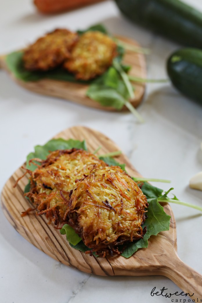 These Are the Only Vegetable Latkes You Will Actually Love. Do the healthier substitutes for potato latkes just not do it for you? If you're going to change it up a bit, this is these vegetable latkes are the only way.