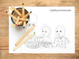 Shpielman Free Download Chanukah Coloring pages. Hanukkah Coloring Pages