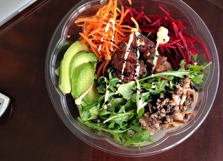 It's What's for Lunch: The Poke Bowl. Bowls are just the best. Especially when they're full of poke and drizzled with lots of sauce.