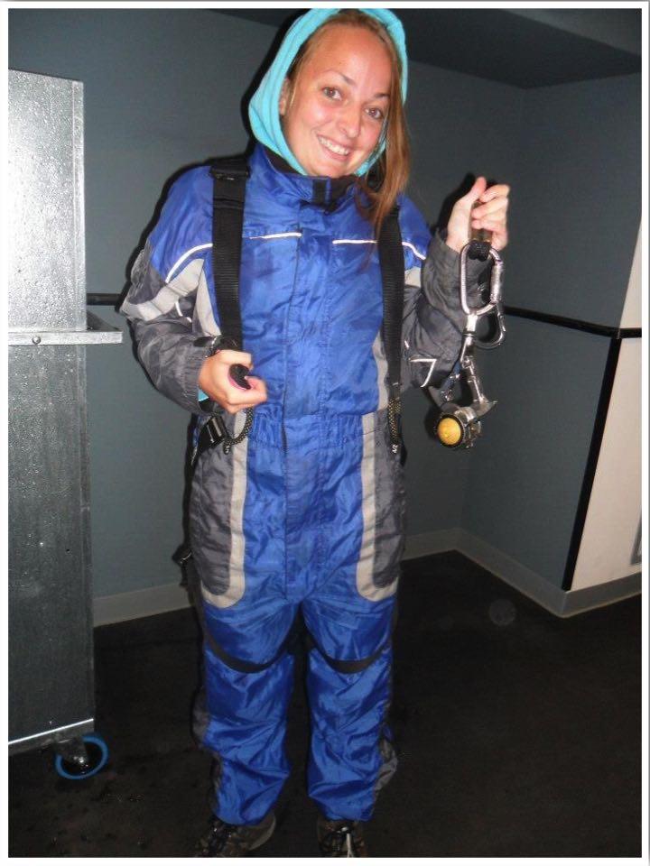 Climb the O2 Jump Suit