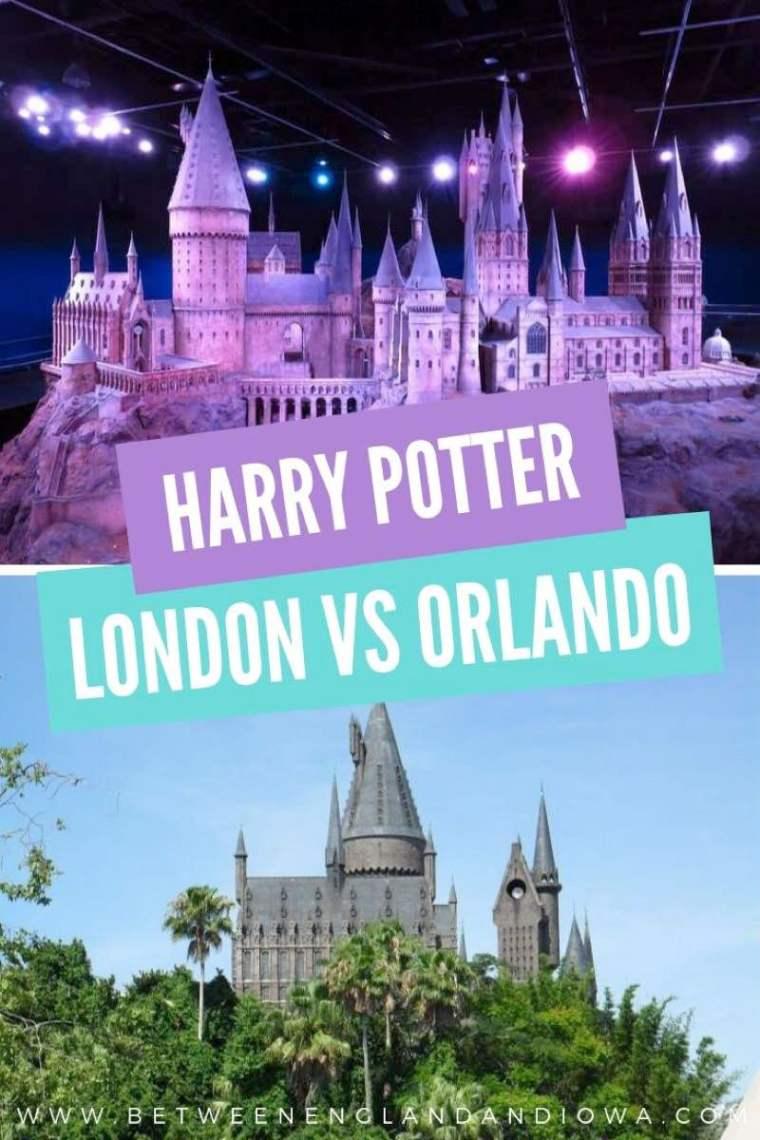 Harry Potter Wizarding Worlds London vs Orlando