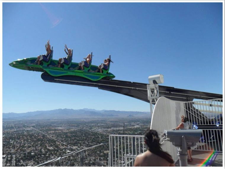 Las Vegas Thrill Rides. Stratosphere Thrill Rides