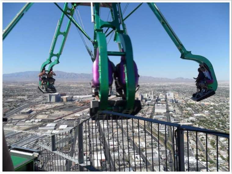 Las Vegas Thrill Rides Stratosphere Tower Rides