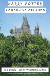 Harry Potter London vs Orlando. Which Harry Potter attraction is better: WB Studio Tour or Wizarding World of Harry Potter
