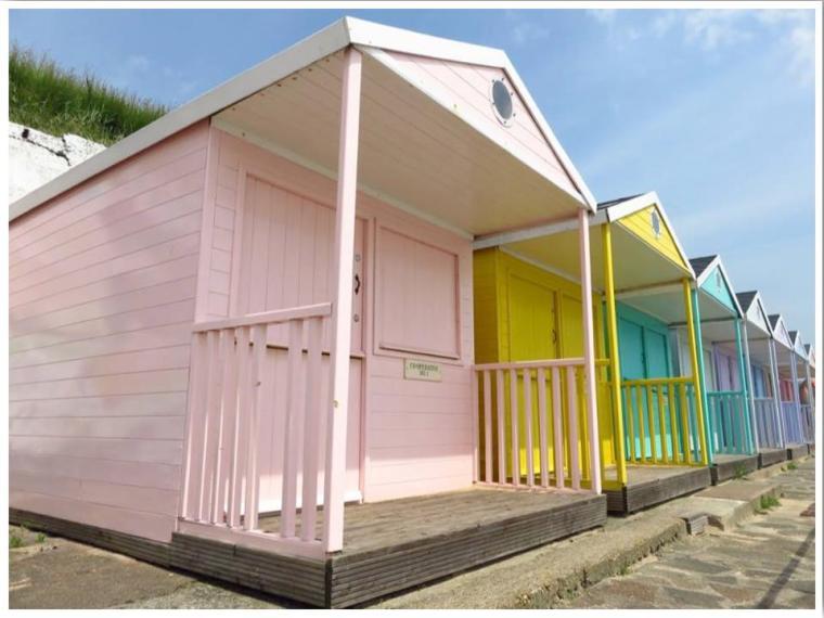 British Seaside Beach Huts