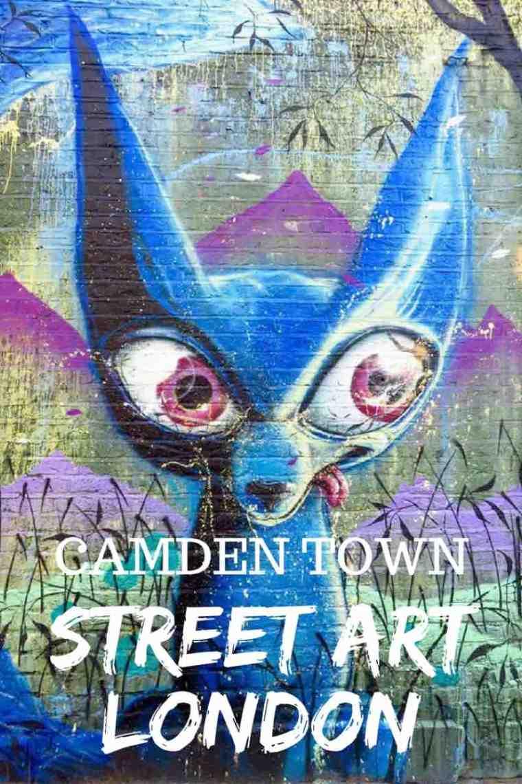 Camden Town Street Art London Locations. Where to find hidden street art in #Camden Town #London #streetart