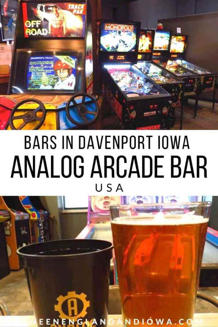 Analog Arcade Bar in Davenport Iowa