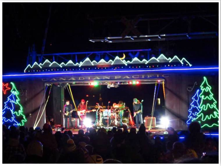 Canadian Pacific Holiday Train US Route
