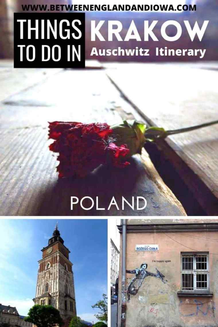 Things to do in Krakow Poland Auschwitz Itinerary