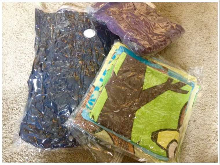 Packing Tips for Moving Overseas - Vacuum Bags