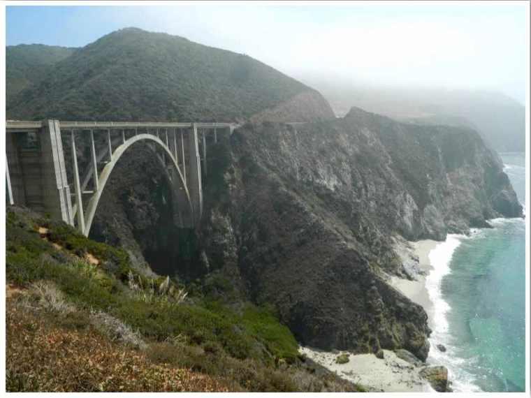 Route 1 California Bixby Bridge
