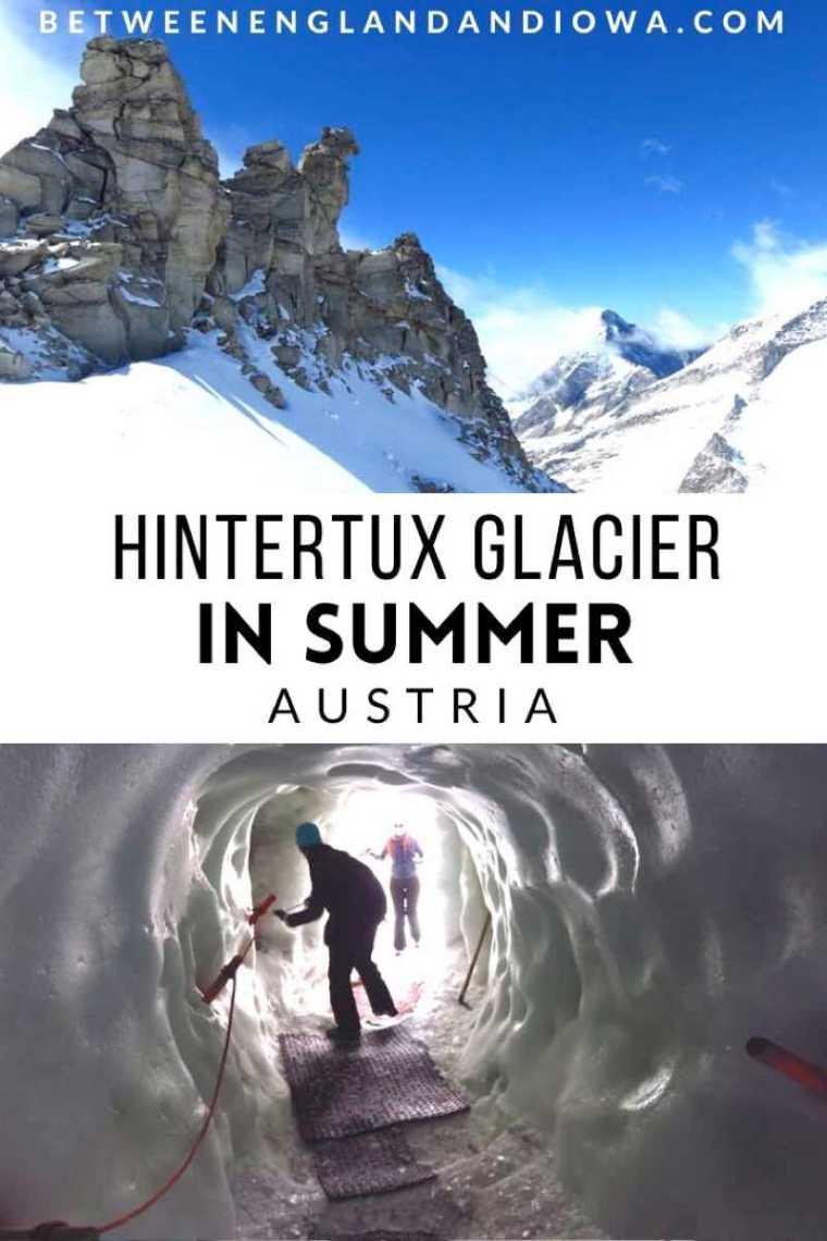 Hintertux Glacier in Summer, Austria