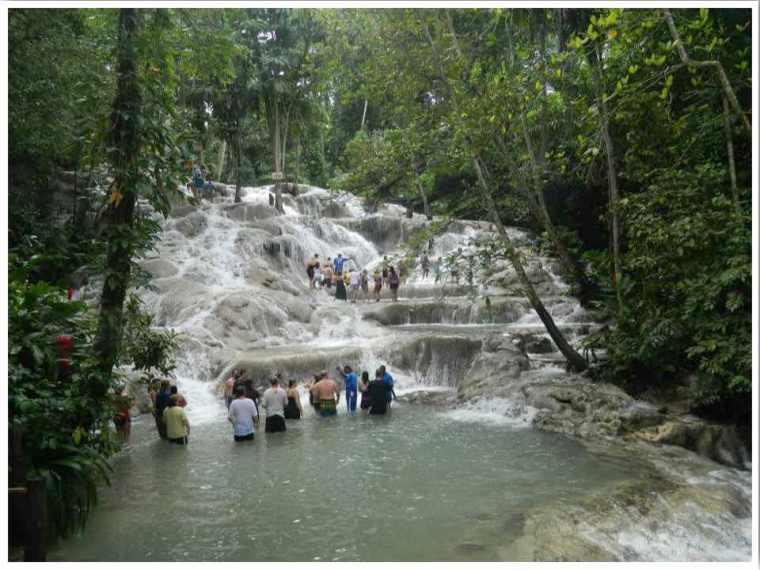 Ocho Rios Dunns River Falls Jamaica