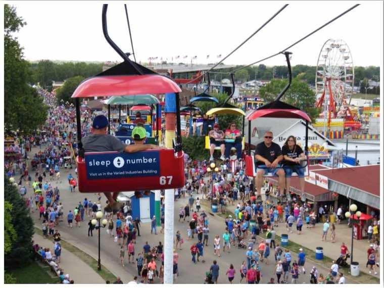Iowa State Fair Sky Glider
