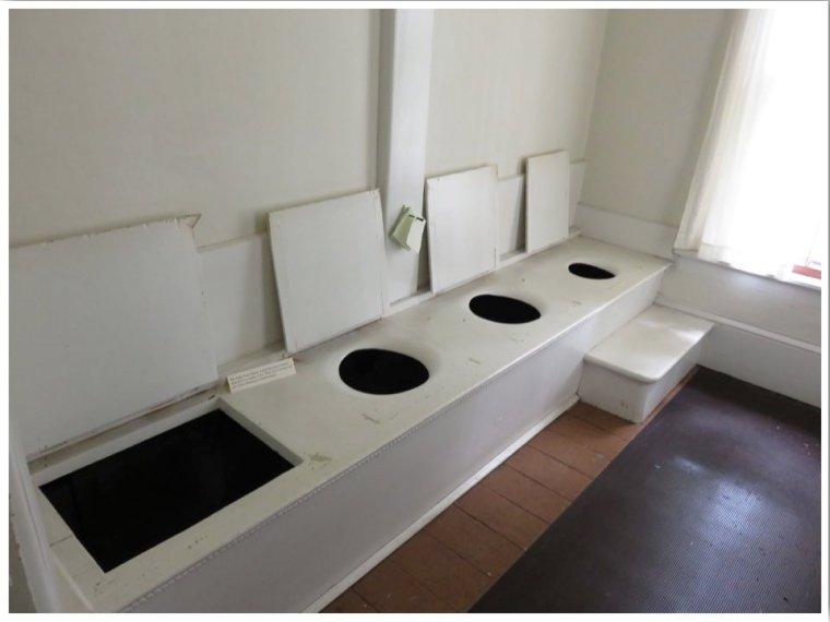 Lincoln Tallman House Toilets