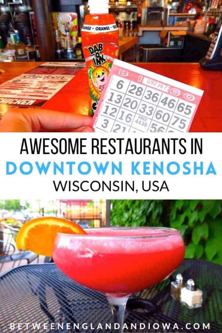 Awesome Downtown Kenosha Restaurants Wisconsin USA
