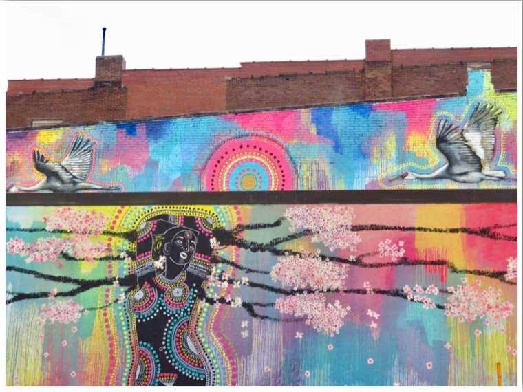 Dubuque Iowa Murals