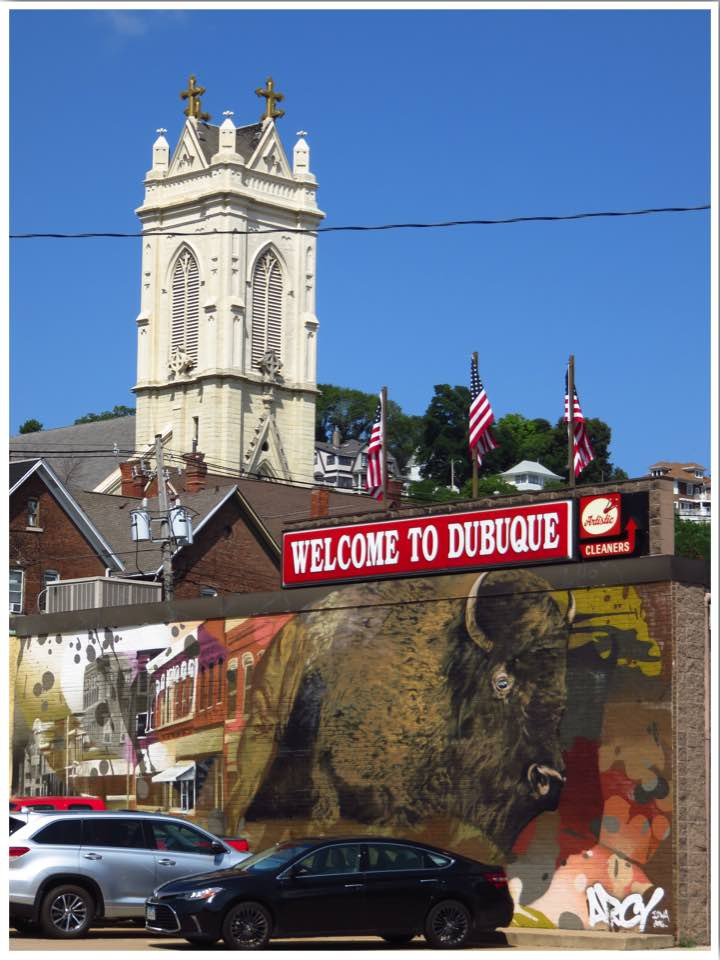 Dubuque Welcome Mural