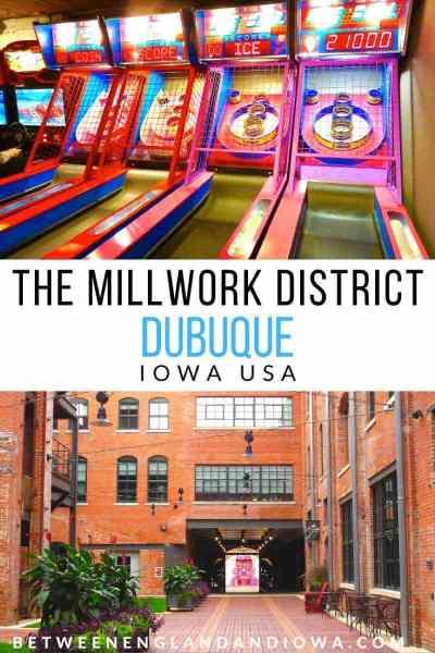 Dubuque Millwork District in Iowa USA