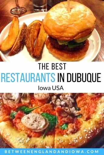 The best restaurants in Dubuque Iowa USA