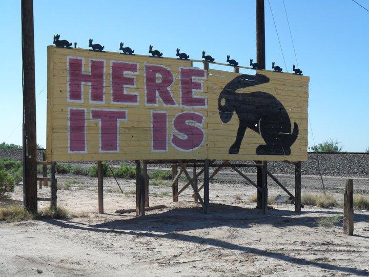 Route 66 Here Is It Jack Rabbit Trading Post Joseph City Arizona