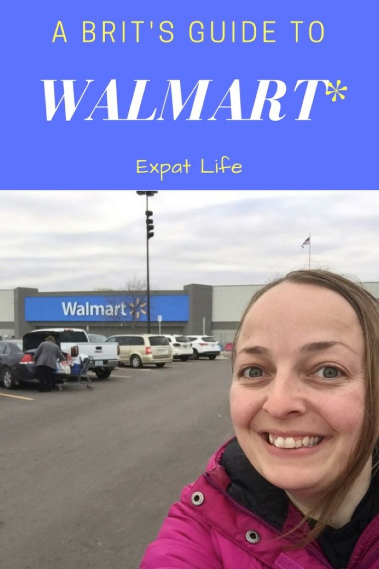 A Brit's Guide To Walmart.  How to shop in this American Superstore!