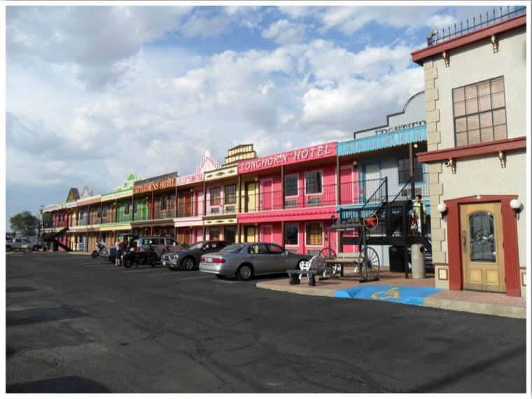 The Big Texan Motel Amarillo Texas