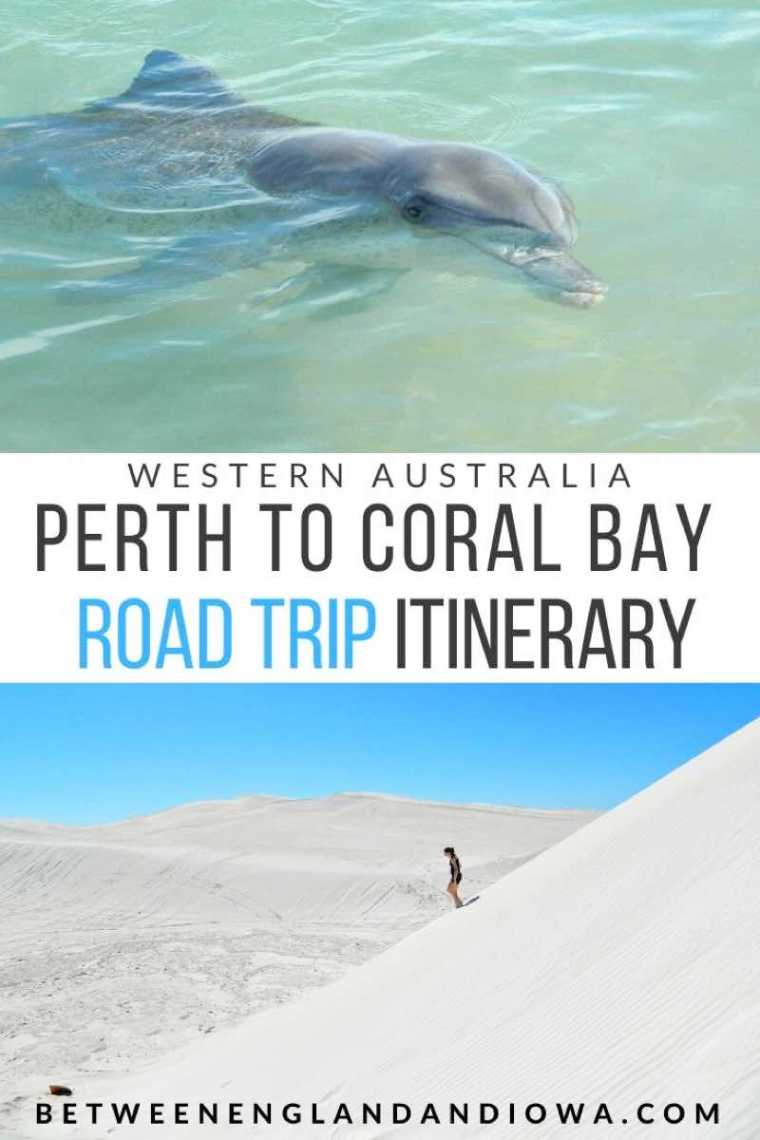 Perth to Coral Bay Western Australia Road Trip Itinerary
