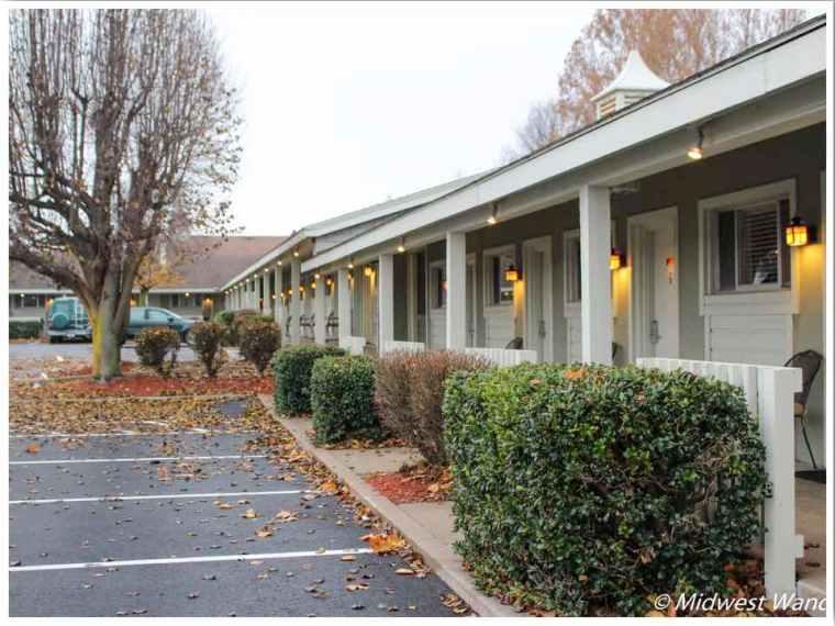 Rail Haven Motel Route 66 Connie
