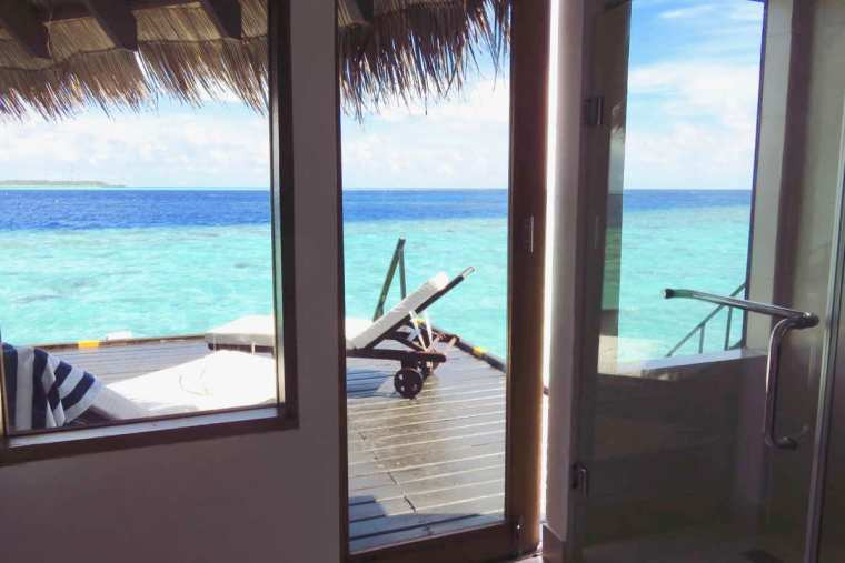 Toilets Adaaran Club Rannalhi Maldives
