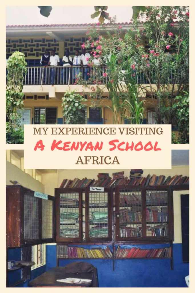 Visiting a school in Kenya. My experience as a college student