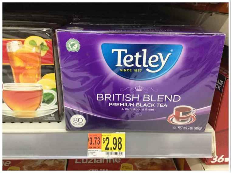 Walmart Tetley Tea