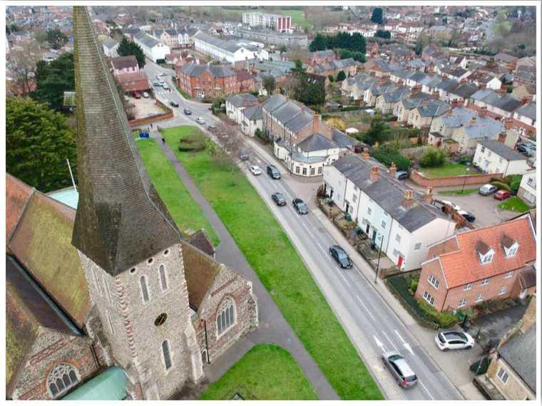 St Michaels Church Braintree Essex