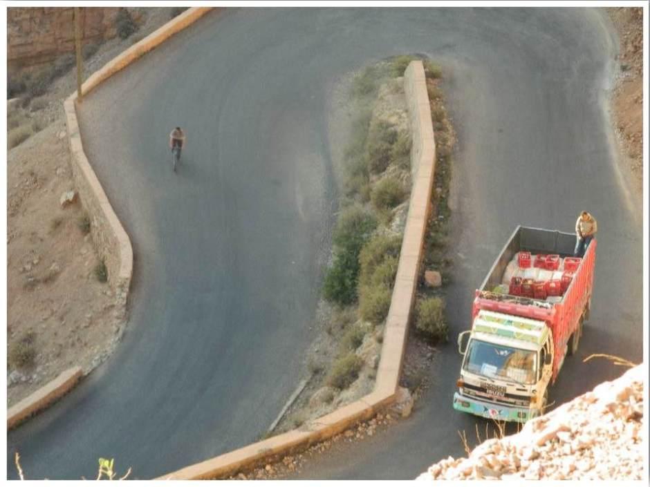 Dades Gorge Mountain Road Morocco