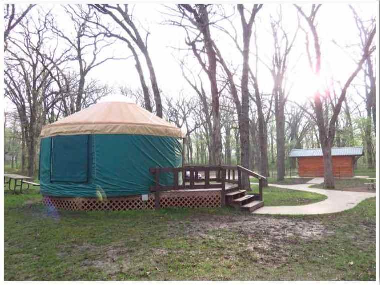 Clear Lake Yurt and Toilet Block