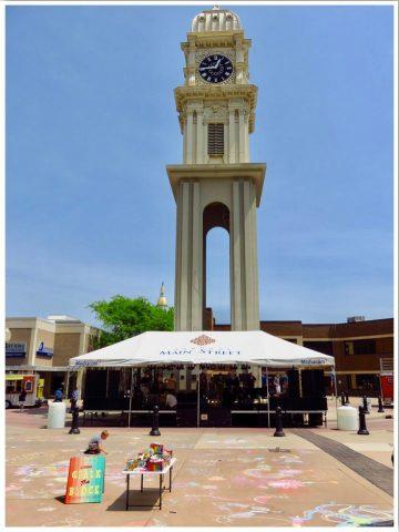 Dubuque Town Clock Plaza