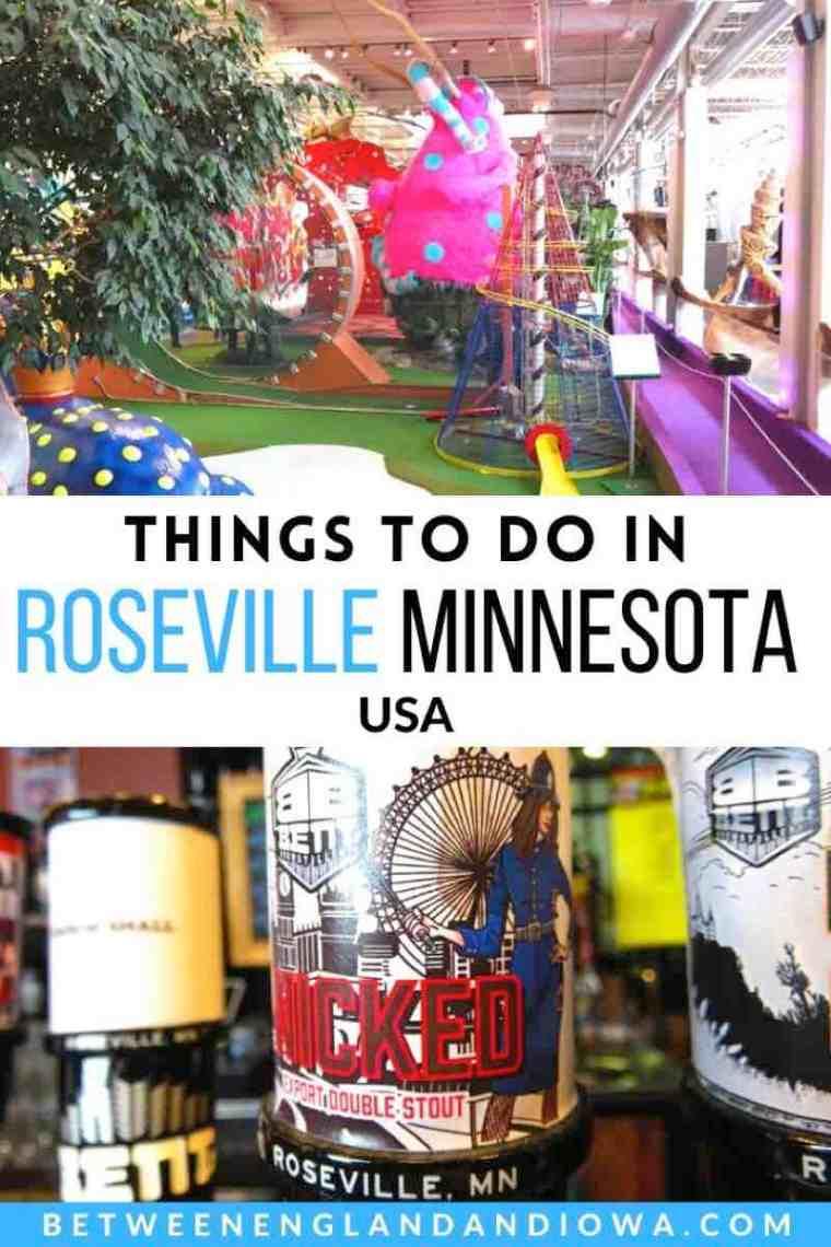 Things to do in Roseville Minnesota