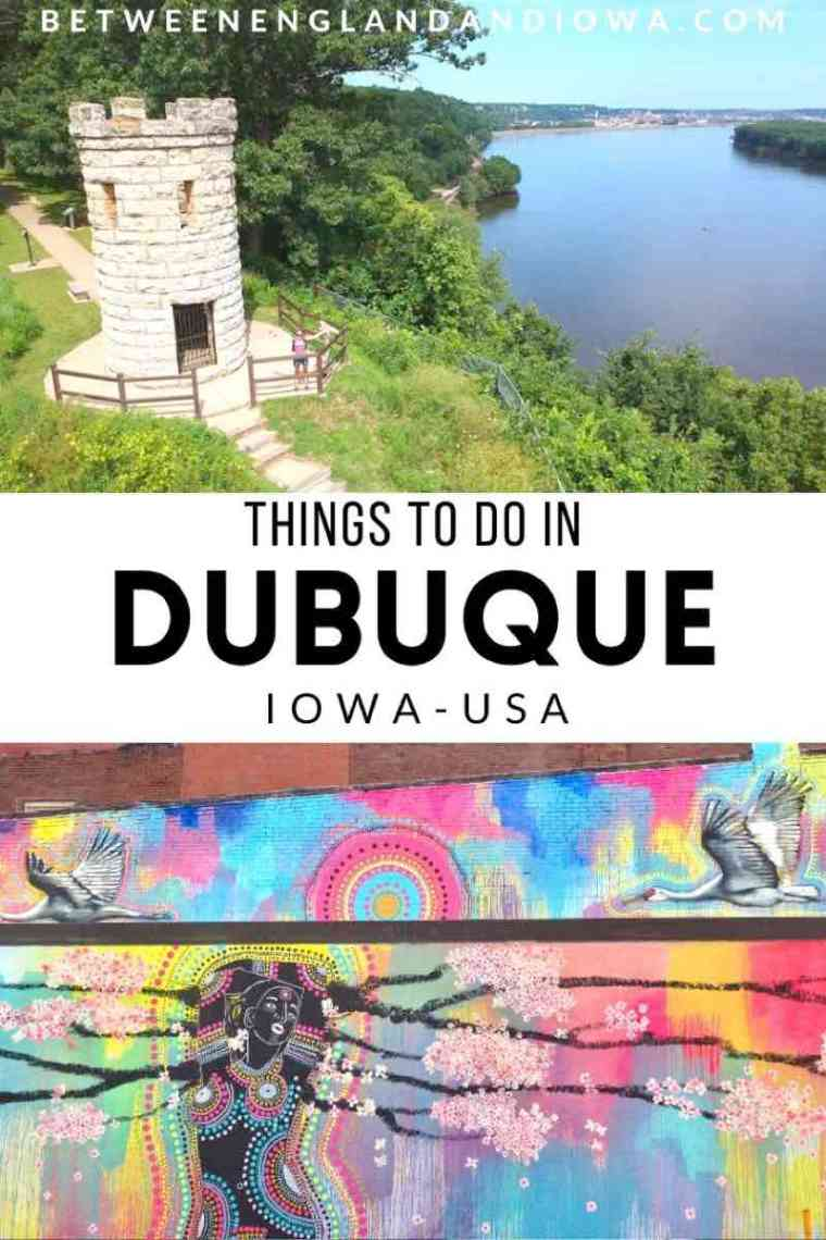 Things to do in Dubuque Iowa USA