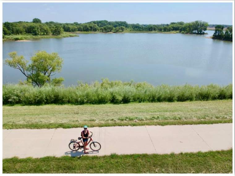 Cedar Valley Nature Trail Cycling Trails in Waterloo Iowa
