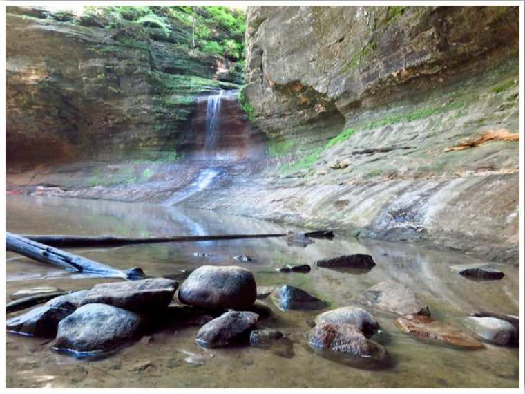Matthiessen State Park Illinois USA