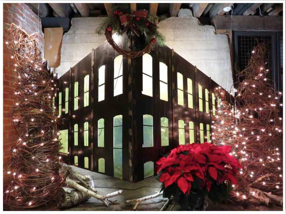 Dubuque Christmas Millwork District
