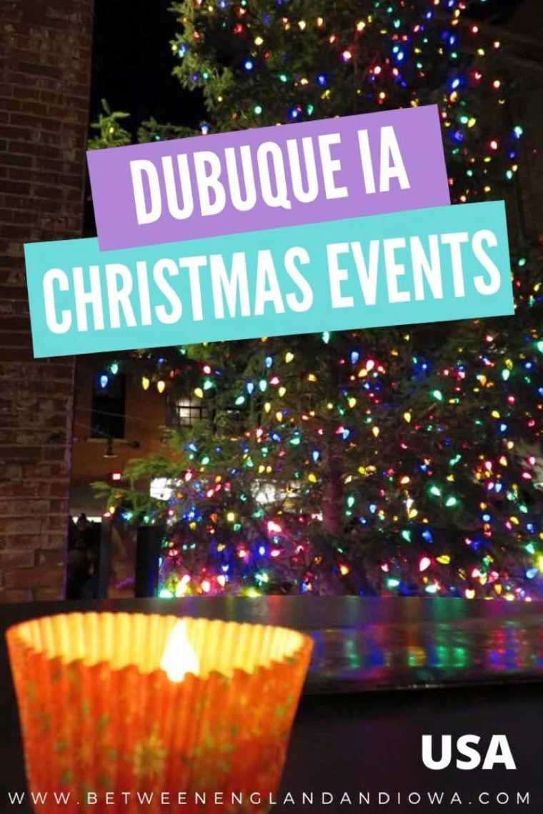 Dubuque Christmas Lights and Events in Iowa