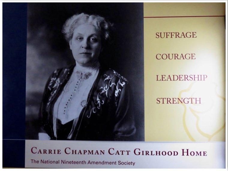Charles City Carrie Chapman Catt Girlhood Home