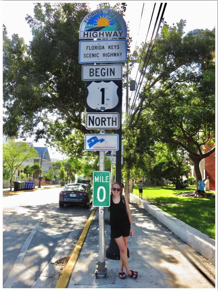 Key West Mile 0 Marker