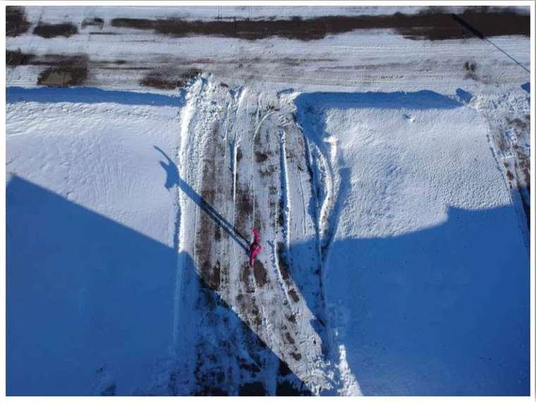 Iowa winter snow shovelling