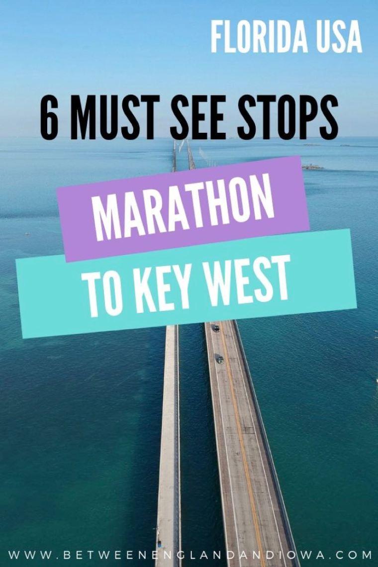 Marathon to Key West Florida