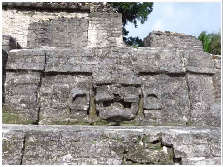 Belize Altun Ha sun god
