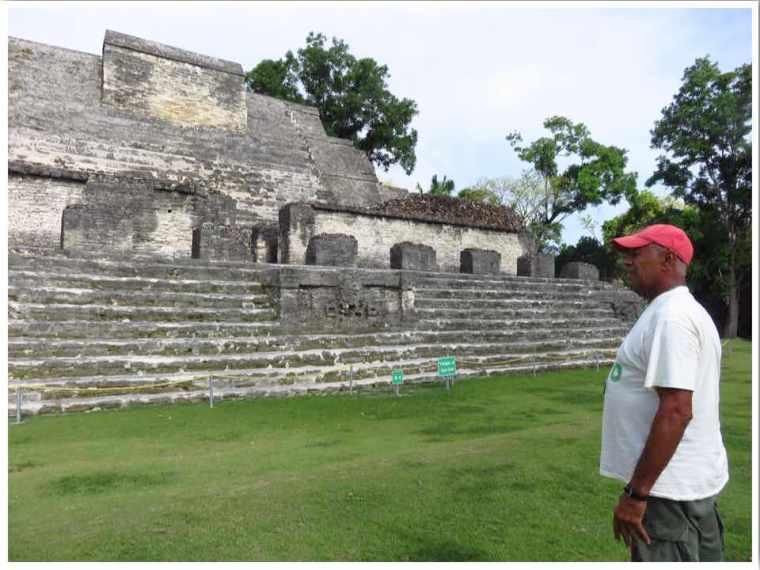 Belize Major Tom at Altun Ha