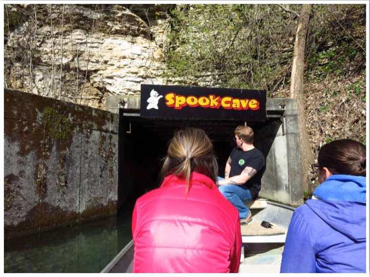 Spook Cave Boat Tour